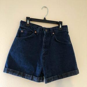 Levi's High Waisted Shorts